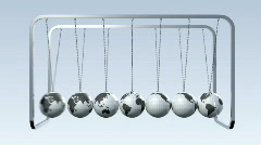 Newtons Cradle Stock Footage