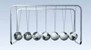 Stock Video Footage of Newtons Cradle