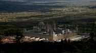 Spain. Madrid. Monastery. Monasterio del Escorial Stock Footage