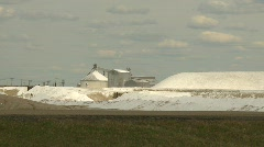 Sodium sulfate mine, Zoom Stock Footage