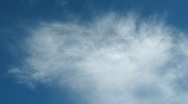 Light clouds Stock Footage