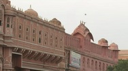 Stock Video Footage of Hawa Mahal in Jaipur