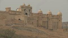 Amer palace jaipur Stock Footage