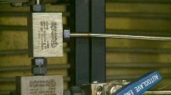 Science lab, heat pressure unit, detail, #1 Stock Footage