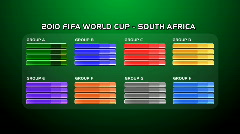FIFA_World_Cup_2010_Rounds05_Green Stock Footage