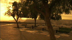 David Ben Gurion`s Tomb Stock Footage