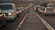 Stock Video Footage of Traffic jam time lapse 2D and 3D stereoscopic