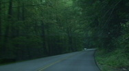 Stock Video Footage of GSMNP Driving 2