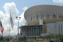 Puerto Rico Coliseum Jose Miguel Agrelot 1  Stock Footage
