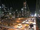Stock Video Footage of Brooklyn Bridge and Manhattan