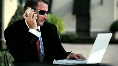 Business Executive Lifestyle Stock Footage