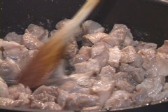 Alligator Tail Cooking Stock Footage