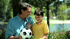 Father & Son Time - stock footage