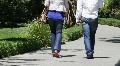 Couple Walking Footage