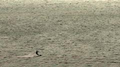 kitesurfing - stock footage