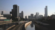 Stock Video Footage of Ayalon street