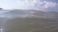 Close Up Of Ocean Waves Near Fort DeSoto Beach Stock Footage