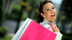 Fun Shopping Lifestyle Stock Footage