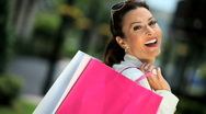 Stock Video Footage of Fun Shopping Lifestyle