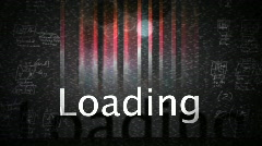 T188 loading screen loop looping load computer graphic Stock Footage