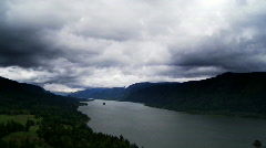 Columbia River Time Lapse Stock Footage