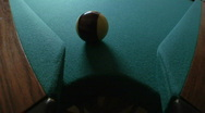 Stock Video Footage of billiards ball corner pocket