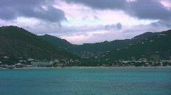 Island mountain 03 Stock Footage