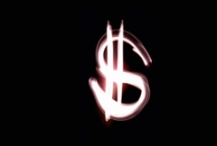Stock Video Footage of Money sign