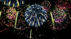 Fireworks. Loop Stock Footage