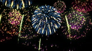 Stock Video Footage of Fireworks. Loop