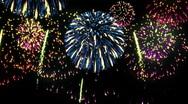 Fireworks. Loop Stock Footage