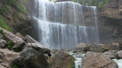 Webster Falls 2 Stock Footage