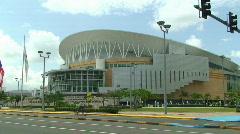 Puerto Rico Coliseum Jose Miguel Agrelot 1/3 Stock Footage