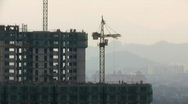 Construction site timelapse Stock Footage