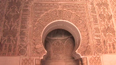 Ben Youssef Madrasa Stock Footage