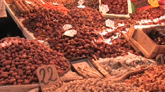 Moroccan Delights in Old Medina Stock Footage