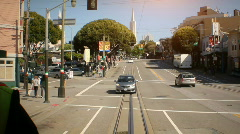 Downtown Trolley 04-Stock Footage PhotoJPG Stock Footage