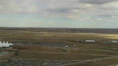 Denver Aerial Landing - 02 Stock Footage