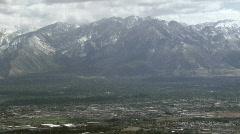 Salt Lake City Aerial - 01 Stock Footage