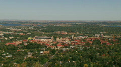 Stock Video Footage of University of Denver Scenic