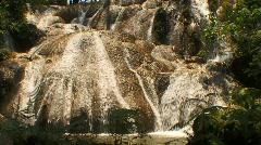 Jungle rock falls Stock Footage
