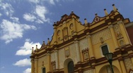 Cathedral Time Lapese 1 Stock Footage