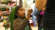 Stock Video Footage of san cristobal market kid3