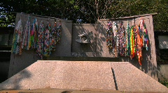 Stock Video Footage of Hiroshima Nagasaki Monument in Tokyo Ueno