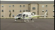 Stock Video Footage of Irish Police Helicopter