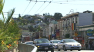 The Castro, San Francisco, Intersection Time Lapse Stock Footage