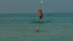 Tal Aviv beach 5 Stock Footage