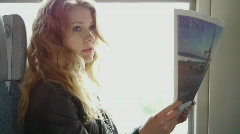 HD1080p Nuori seksikäs blondi nainen Arkistovideo