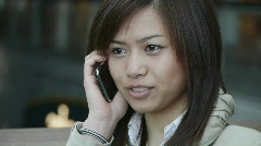 HD1080p Young sexy asian woman Stock Footage
