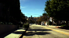Road to the Hollywood Sign  Stock Footage